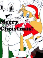 Merry Christmas From Tails by TeamOf1