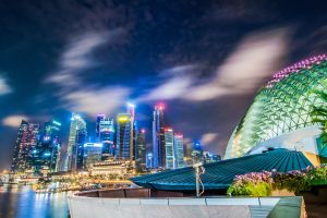 Singapore Skyscappers by Derek7