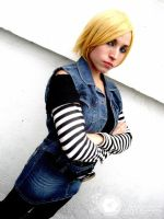 Android 18 by RinaMx