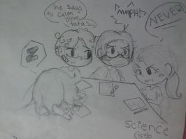 Meanwhile, in 5th period... (genderbend!) by The-stray-cat