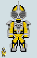 Chibi Rider sprite - Accel (Booster) by Malunis