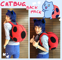 Catbug backpack by SilkenCat