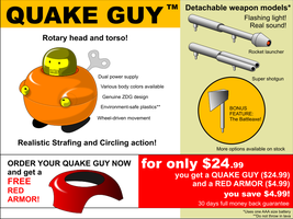 Quake Guy Toy by zdg