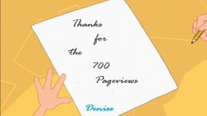 Thanks for the 700 Pageviews by DenyloveThomas