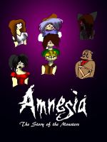 amnesia the story of the monsters chapton 3 cover by wolfwrathgirl