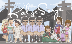 Kalyeserye cast by MistahLevi