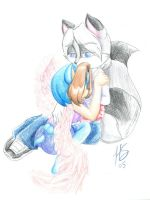 Angel's Embrace by SonicRose