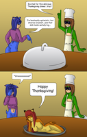 Turkey Surprise by gameboysage
