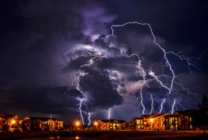 Raining Lightning by PaigeBurress