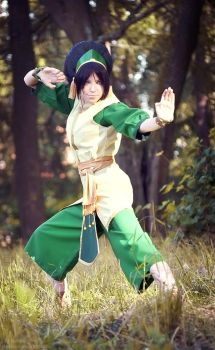 Toph Bei Fong -Avatar The Last Airbender by TophWei