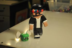 CaptainSparklez by SkyeDragons