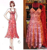 Paisley Sundress by Elenatintil