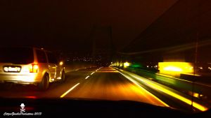 Crossing the Bridge at midnight by CZProductions