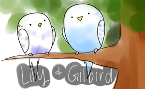 pudgy budgies by DrunkOnTea