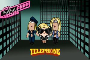 Gaga Puff Telephone by re-ed