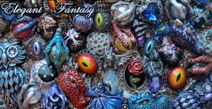 Elegant and Fantasy Necklaces by Ideationox