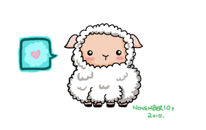 Little Muro Sheep Doodle by Tsukarii