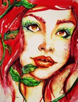 Poison Ivy by Th3-C0unt3ss