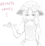 Marisa Penalty game... by Dragoncircle