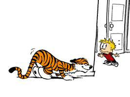 Calvin and Hobbes: The Victim by xX-Pureness-Xx