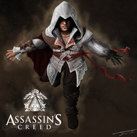 Assassins creed ezio aditore by danidim