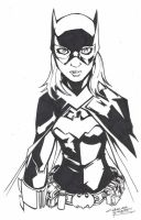 M.I.A Batgirl by KidNotorious