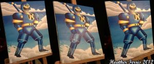 Ninjor Painting by Qtsy