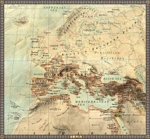 Europe in 1 A.D. by JaySimons