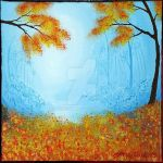 1/52 Blue and orange autumn by tereseh
