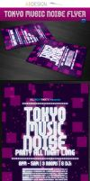 Tokyo Music Noise Template by andre2886