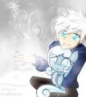 Jack Frost and SnowDrop by FrostSentry150