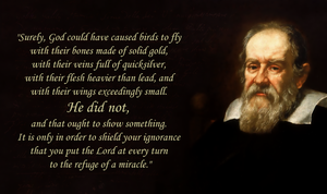 Galileo on Miracles by hanciong