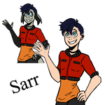 Humanized 3 :Sarr: by 2alexx2