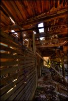 Inside the Barn by Staticpictures