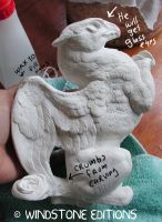 plaster working pyo griffin by Reptangle