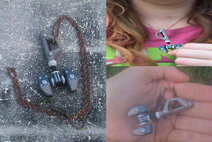 RaC-Ratchet's Wrench Necklace For Sale by KrazyKari