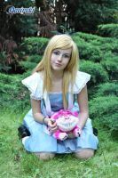 Alice with Cheshire Cat by AliceCosplay