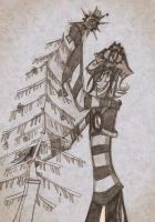 AC Day 5 - A Clockwork Tree by roseandthorn
