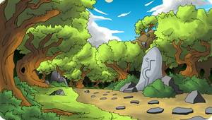 Forest of the Stones by enrokone