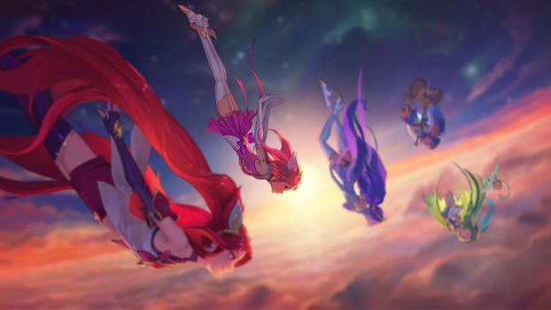 Star Guardian (Lux Focus) by W0LVEMAN