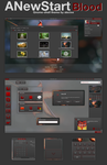 GNOME shell - ANewStartBlood by alecive