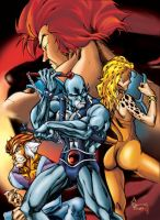 Thundercats color by Matelandia