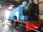 Faceless numberless Thomas in shed by WhippetWild