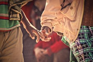 Hands together by MiguelGaudencio