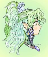 Elven Royalty by Jerzee-Girl
