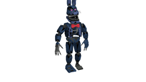 MMD - FNAF | Nightmare Bonnie By Me by JoseTheMaker