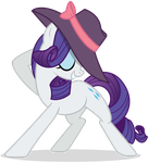 Fabulous Rarity Pose by Yanoda