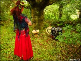 ritual witch by Estruda