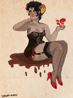 Aradia Pinup by shannonmurphy