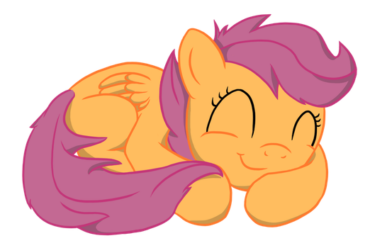 Sleeping Scoots by from-yesterday-xx